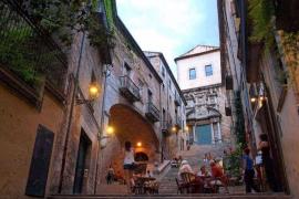 Jüdischen Viertel der Altstadt von Girona