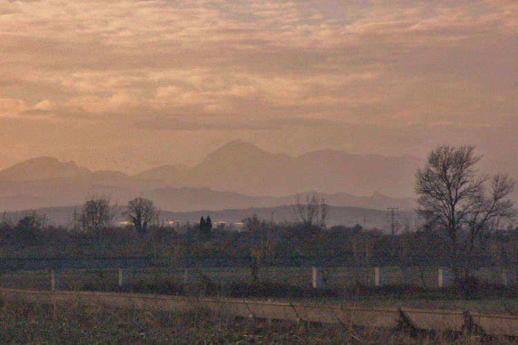 Across the plains from Aiguamolls