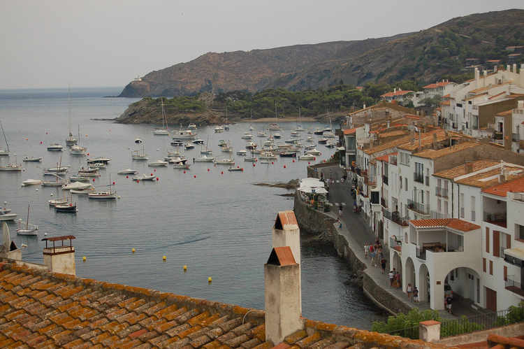 View from the Church at Cadaques