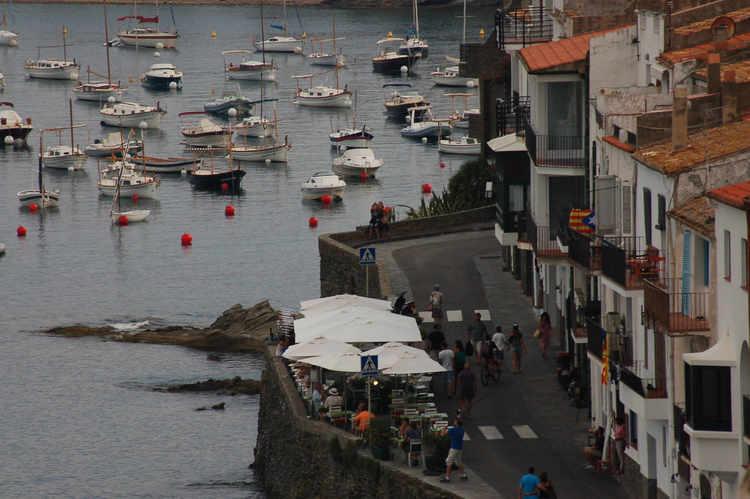 The harbor at Cadaques