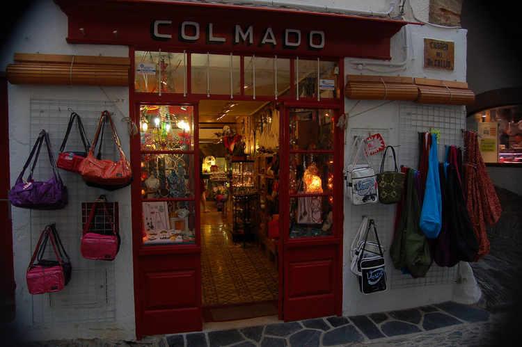 Cadaques - a shop at dusk