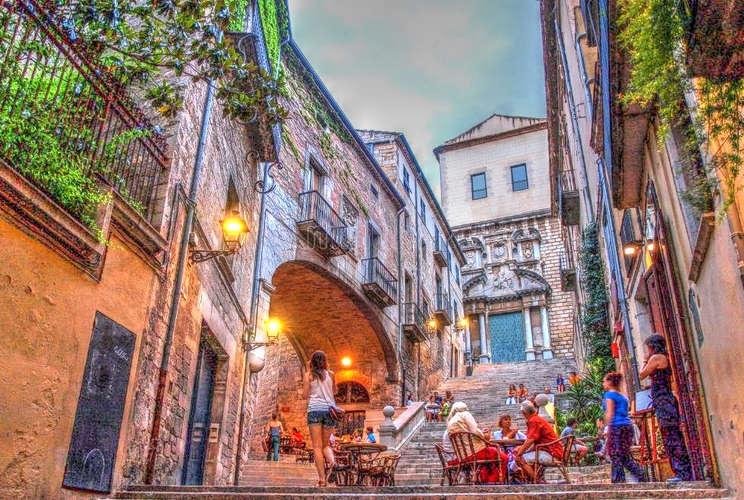Jewish area old town Girona
