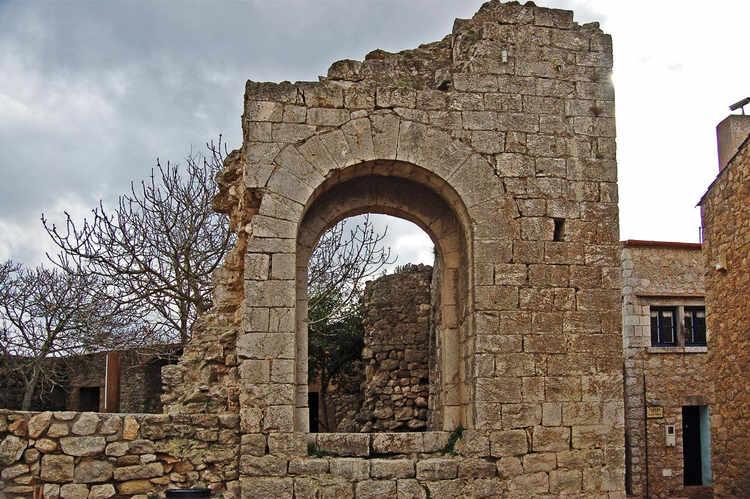 A ruin in the village