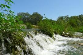 The river Manol near to Llado