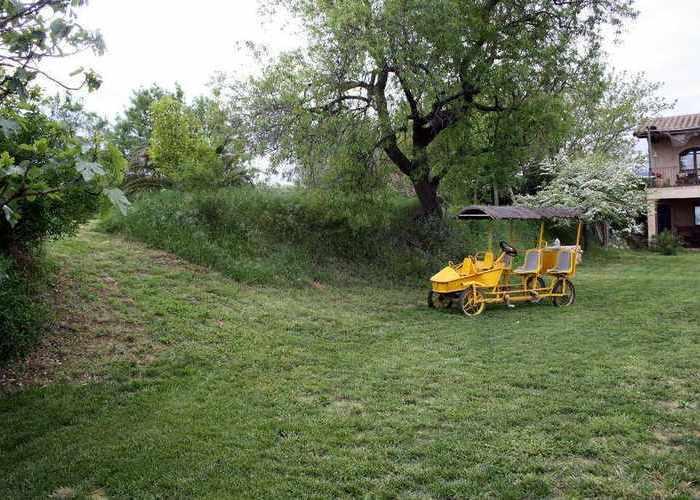 Garden and strange machine