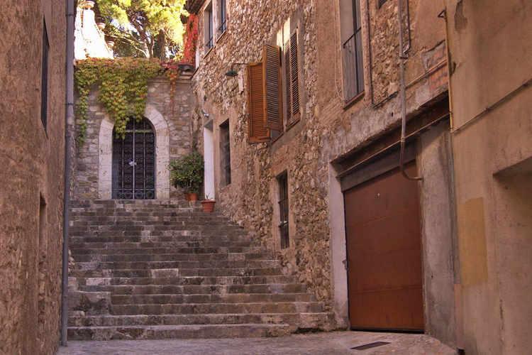 escaleras medievales