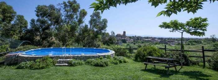 The swimming pool - Llado church