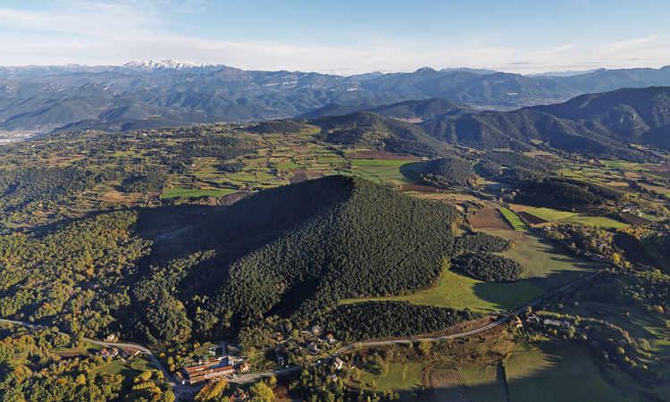 Zone volcanique de la Garrotxa