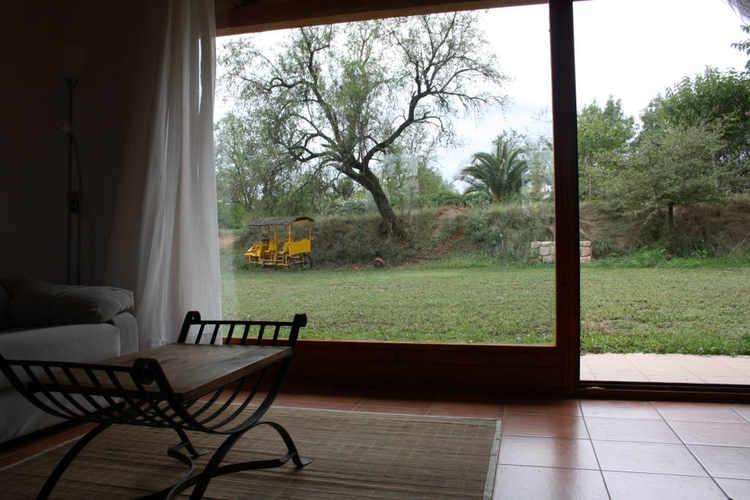 Vista jardí des de sala