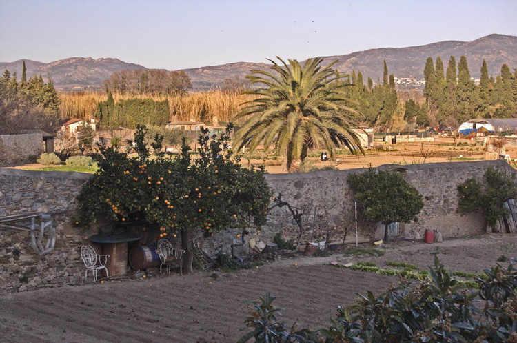 Castello de Empúries - un jardí