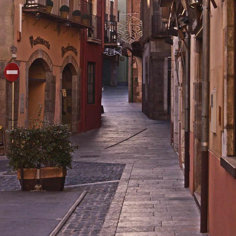 Castello de Empúries - un carrer