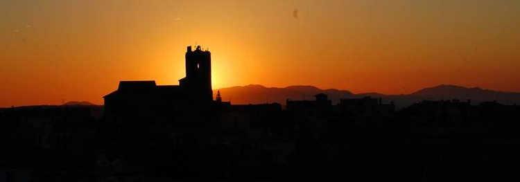 Llado alba i l'església