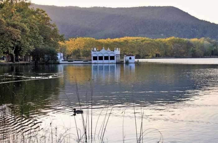 Una casa a l'aigua