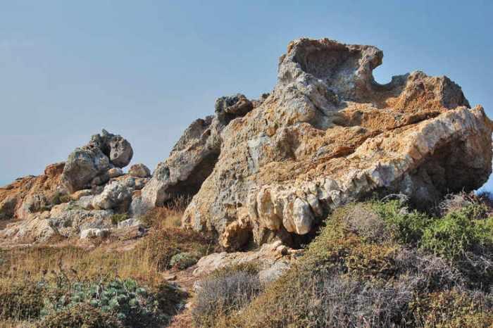 Formacions de roca estranyes