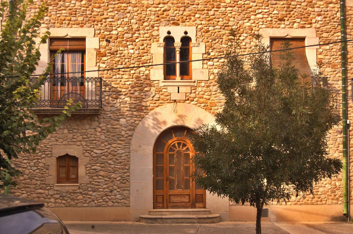 Casa de pedra en Crespia