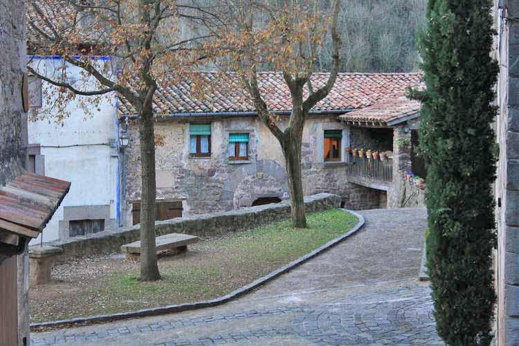 El centre del poble
