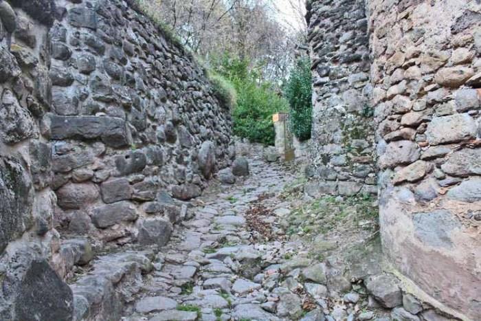 Un camí de pedra